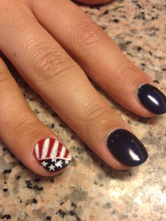 4th Of July Nail Polish & Nail Art Ideas For You To Try 9