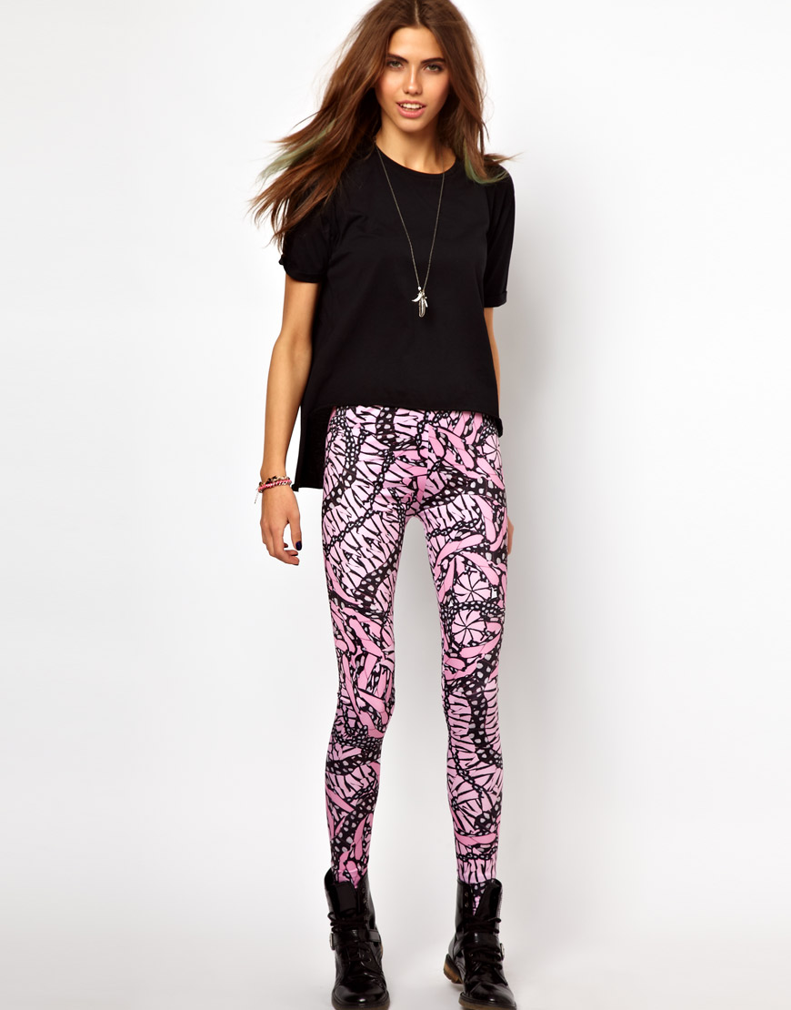 currently coveting printed leggings