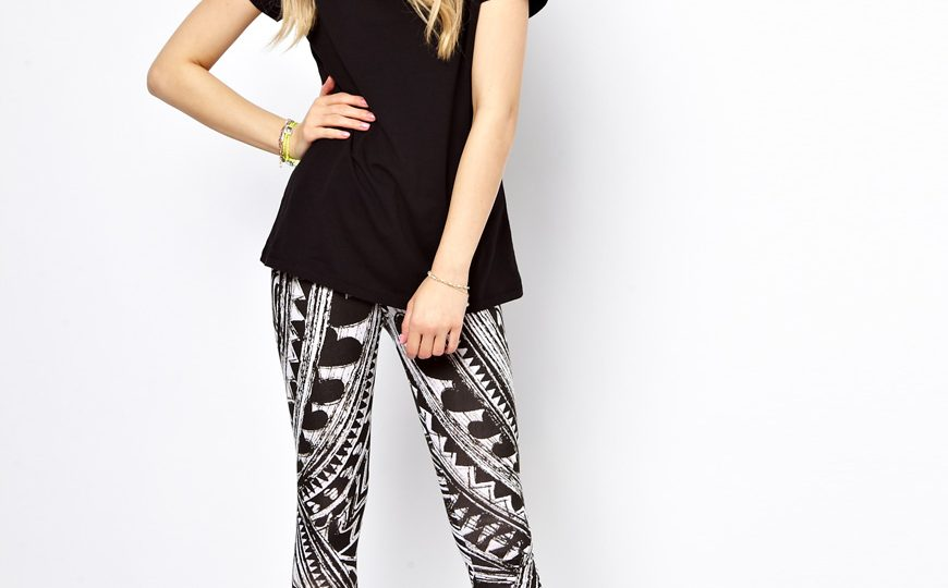 660998390d37 Currently Coveting - Printed Leggings