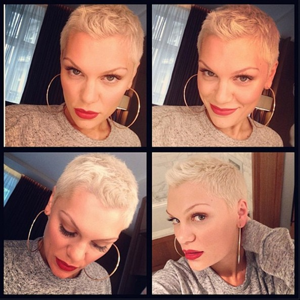 Jessie J Looks Hot With Her New Blonde Buzzcut 2