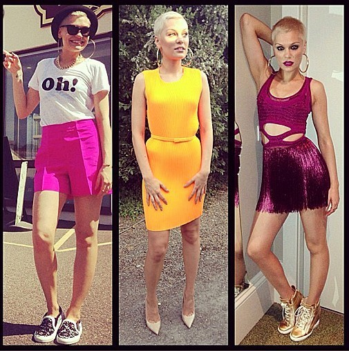 Jessie J Looks Hot With Her New Blonde Buzzcut