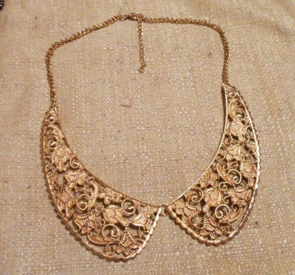 Lacey Filigree Collar Necklace