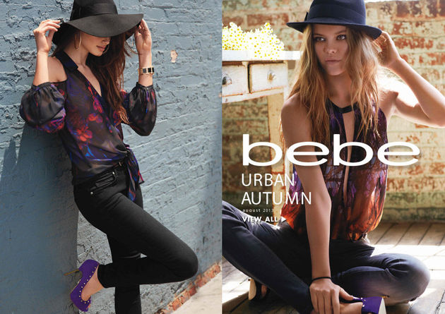 Bebe Urban Autumn Fall 2013 Lookbook & Collection