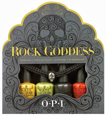 OPI Halloween 2013 Nail Polish Collection - OPI Rock Goddess Collection