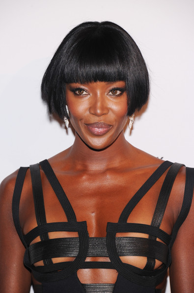 We Totally Love Naomi Campbell Ear Length Bob