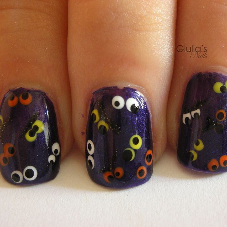 Nail Colors Halloween: 2013 Halloween Nail Art / Nail Polish Ideas
