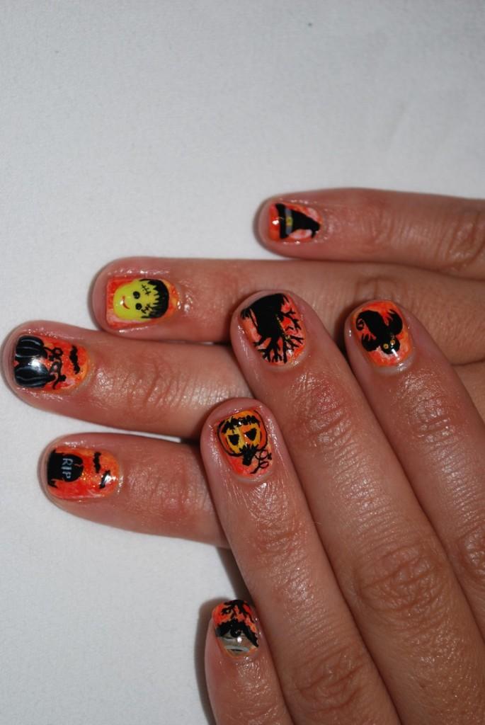 2013 Halloween Nail Art  - Nail Polish Ideas 5