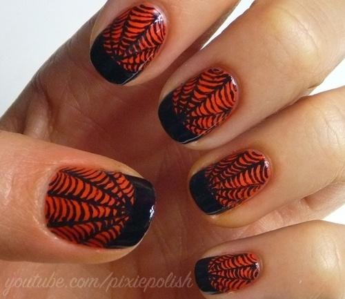 2013 Halloween Nail Art  - Nail Polish Ideas 6