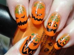 2013 Halloween Nail Art  - Nail Polish Ideas 8