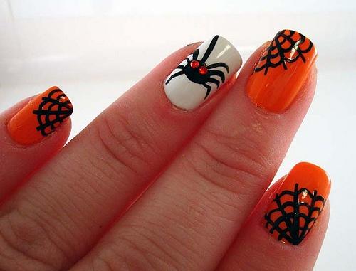 2013 Halloween Nail Art  - Nail Polish Ideas 9