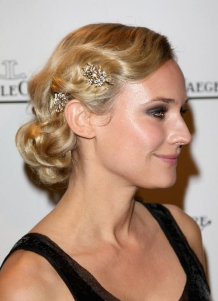 2013 Holiday Hairstyles and Makeup Ideas