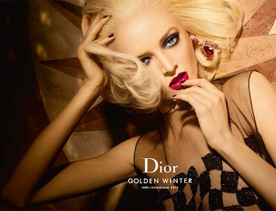 Dior Golden Winter Holiday 2013 Makeup Collection