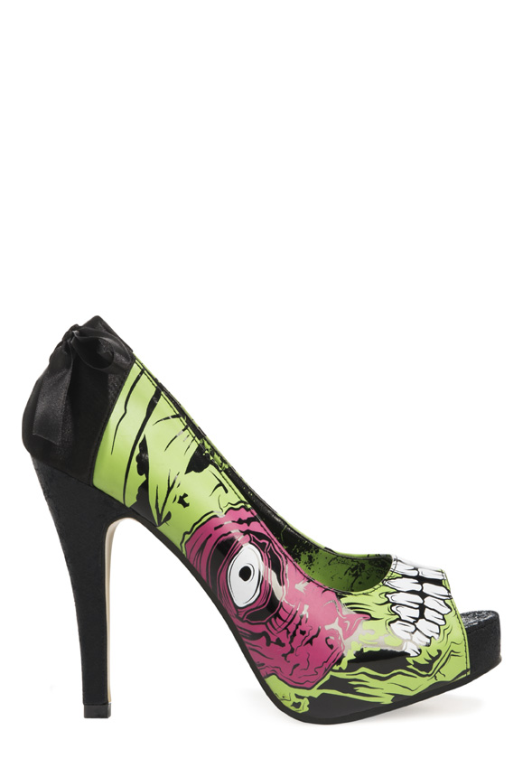 JustFab Iron Fist Halloween 2013 Shoe Collection 2