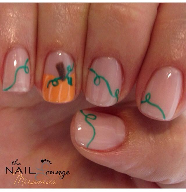 Simple Elegant Fall Nail Designs: Fall / Thanksgiving Nails On Pinterest