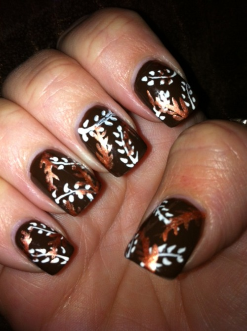 Thanksgiving Nail Art Designs Ideas Fashion Trend Seeker