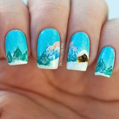 Holiday Nail Art Design & Ideas 10