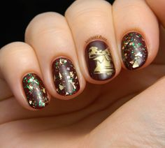 Holiday Nail Art Design & Ideas 11