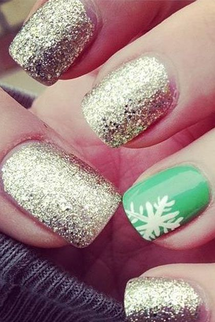 Holiday Nail Art Design & Ideas 2