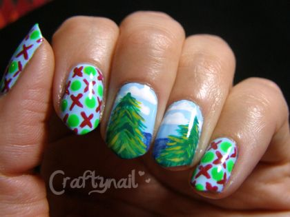 Holiday Nail Art Design & Ideas 7