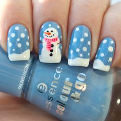 Holiday Nail Art Design & Ideas 9
