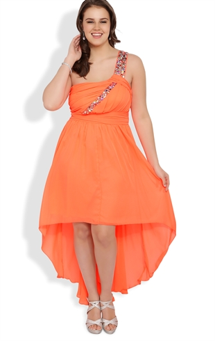 2014 plus size prom dress trends