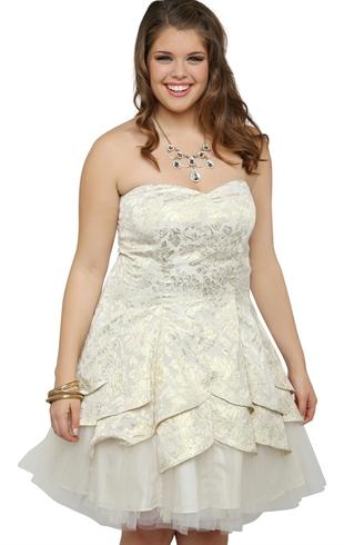 2014 plus size prom dress trends