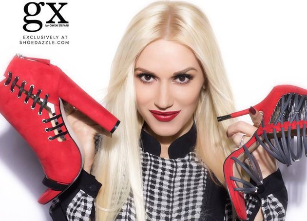 Gwen Stefani Is Teaming Up With SHOEDAZZLE 2
