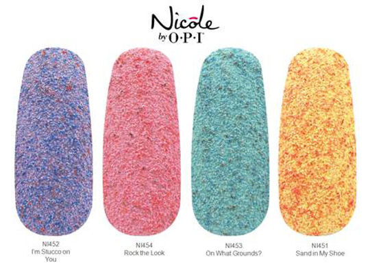 Nicole by OPI Roughles Textured Spring 2014 Nail Polish Collection