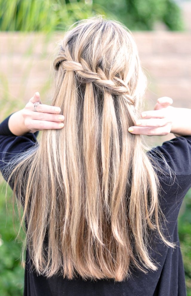 2014 Spring and Summer Braided Hairstyles 5