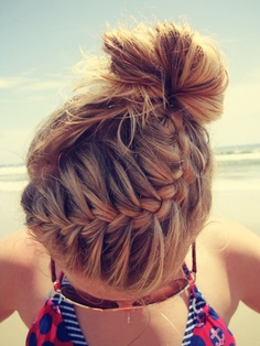 2014 Spring and Summer Braided Hairstyles 9