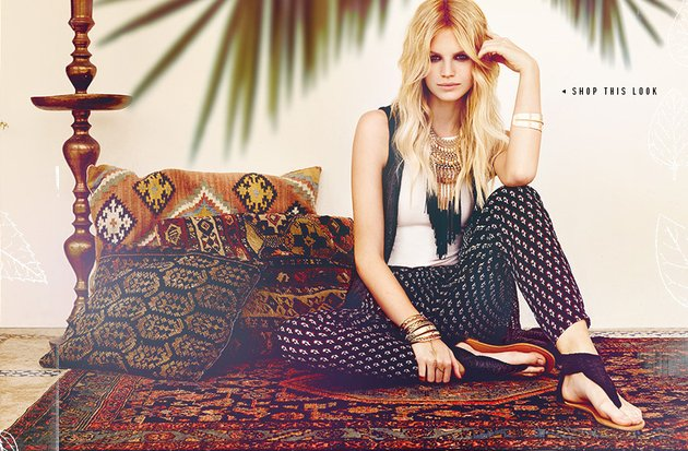 Forever 21 Bohemian Dreams 2014 Lookbook 2