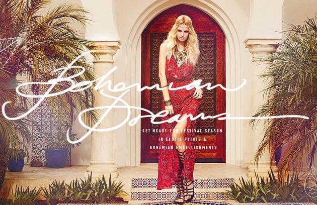 Forever 21 Bohemian Dreams 2014 Lookbook