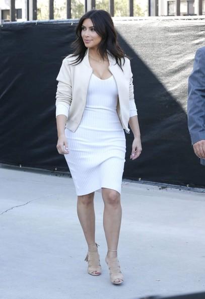 Kim Kardashian Shorter Hairstyle 2