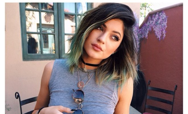 Kesha and Kylie Jenner Show Off New Green Hair