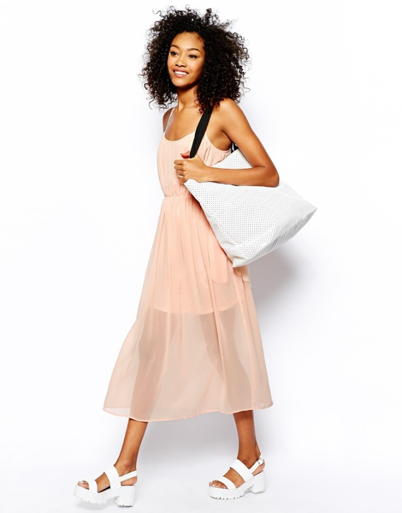 Fashion Trend Alert - Sheer Bottom Dresses and Skirts 4