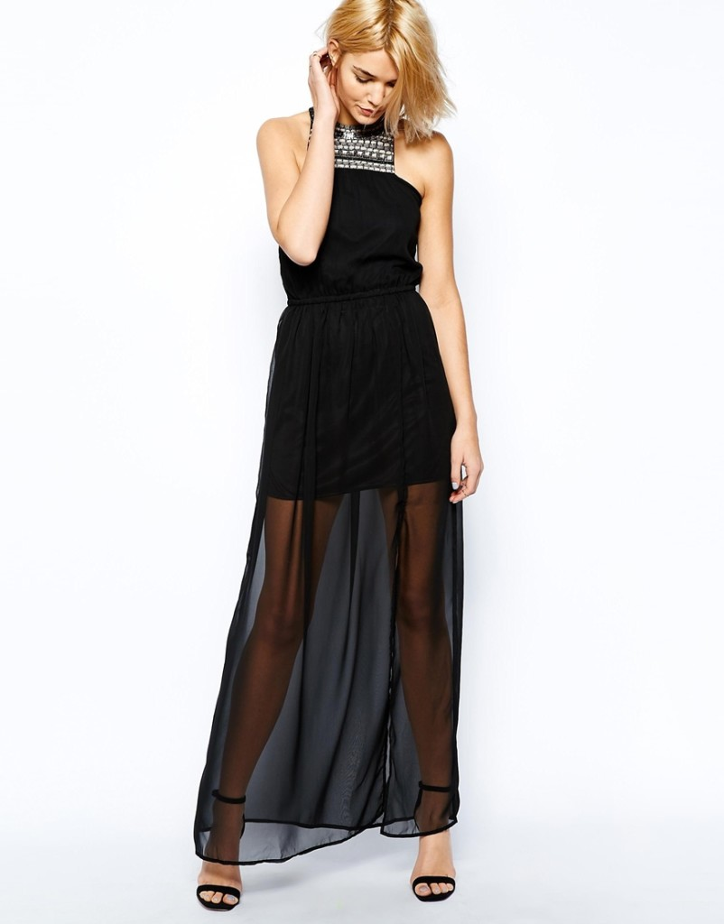 Fashion Trend Alert - Sheer Bottom Dresses and Skirts