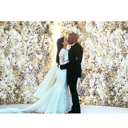 Kim Kardashian Shows Off First Pics Of Her Givenchy Wedding Dress 2