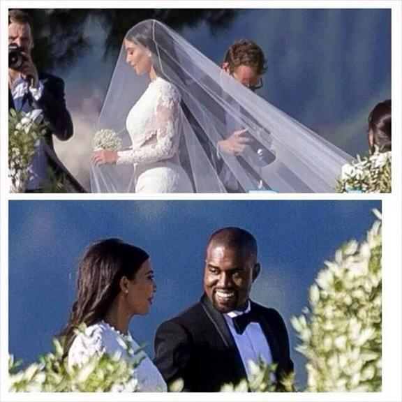 Kim Kardashian Shows Off First Pics Of Her Givenchy Wedding Dress 3