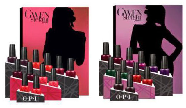 OPI Holiday 2014 Gwen Stefani New Nail Lacquers Collection