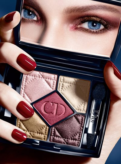 5 New Dior Couleurs Eyeshadow Palettes For Fall 2014