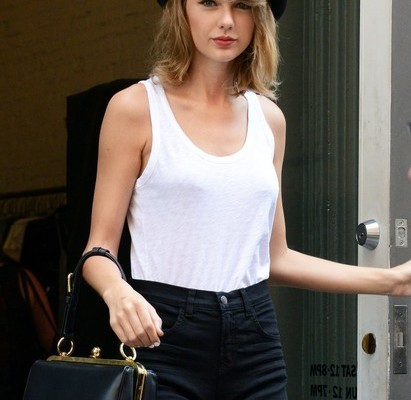 Celebrity Style - Taylor Swift Rocks Bowler Hat &