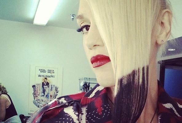 Fashion Trend Seeker: Gwen Stefani Switches Up Her Signature Blonde Locks With
