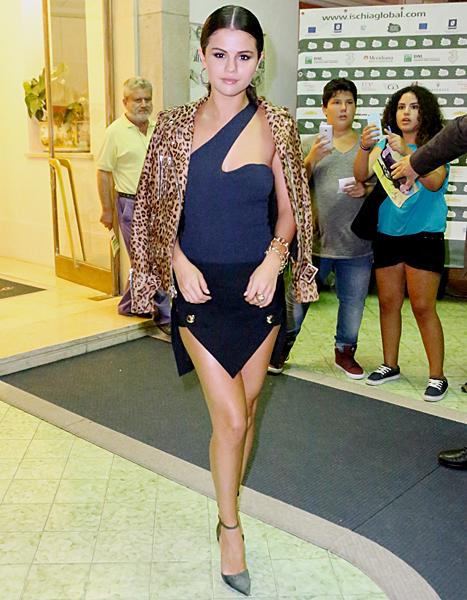 Selena Gomez  Ischia Global Film & Music Festival 2