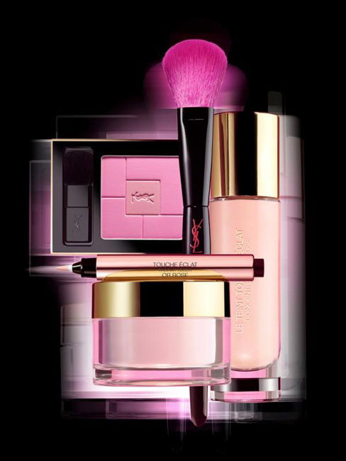 YSL Rose Glow Summer 2014 Makeup Collection