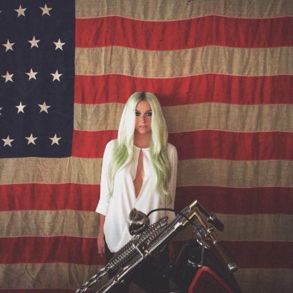 Check Out Kesha's Latest Hair Color - Baby Green 3