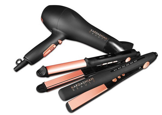 First Look -  Kardashian To Release New Hair Tools With The Makers of CHI