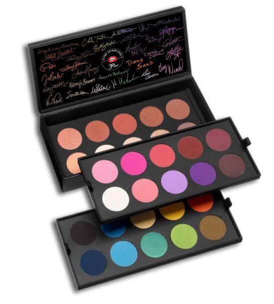 Make Up For Ever 30 Years 30 Colors 30 Artists Palette For