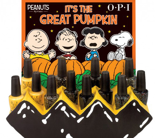 OPI Peanuts Halloween 2014 Nail Polish Collection