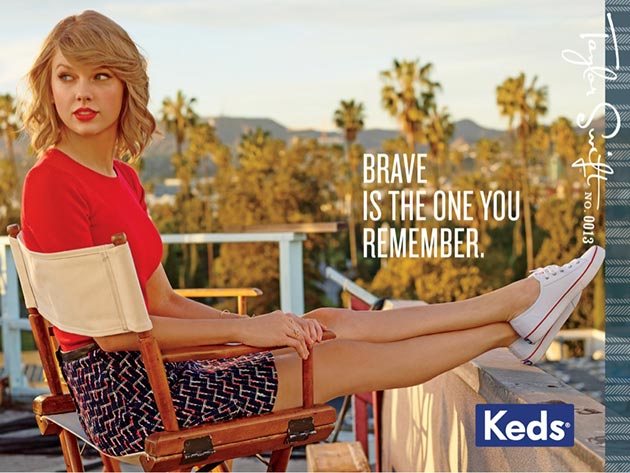 Taylor Swift for Keds Fall 2014 Campaign 2