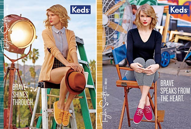Taylor Swift for Keds Fall 2014 Campaign 3